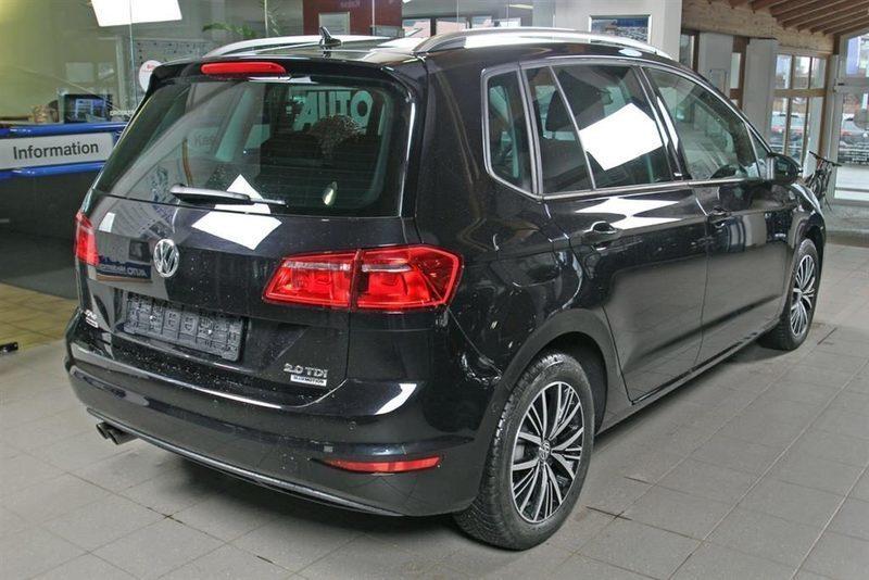 usato 2 0 tdi bmt allstar vw golf sportsvan 2016 km in brunico bz. Black Bedroom Furniture Sets. Home Design Ideas