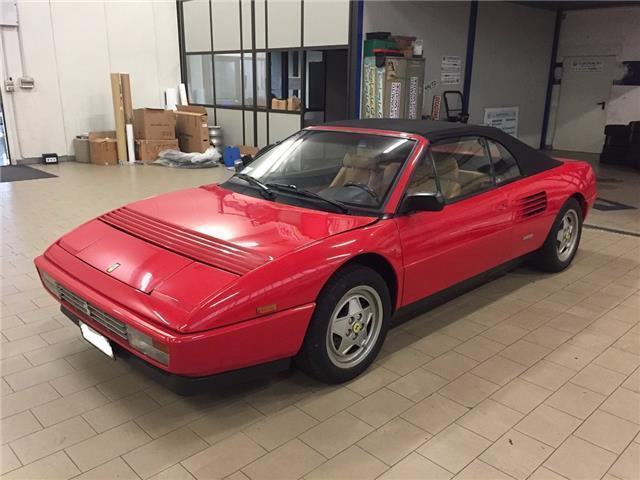 usato 3 4 t cat cabriolet certificata classiche ferrari mondial 1991 km 10. Black Bedroom Furniture Sets. Home Design Ideas