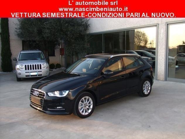 usata Audi A3 SPB 1.6 TDI Attraction 110 cv NAVI