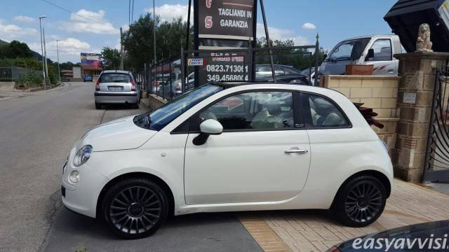 sold fiat 500 cabrio gpl bianco used cars for sale autouncle. Black Bedroom Furniture Sets. Home Design Ideas