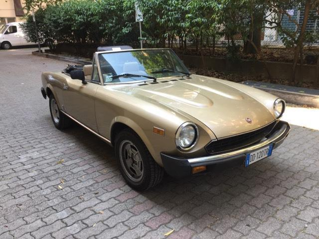 sold fiat 124 spider 124 spider am used cars for sale autouncle. Black Bedroom Furniture Sets. Home Design Ideas