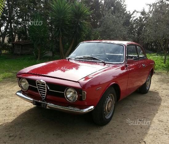 Sold Alfa Romeo GT Scalino 1.3 -19.