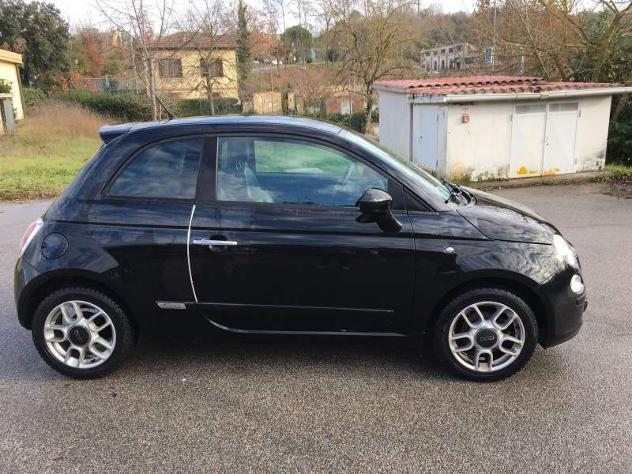 sold fiat 500 1 2 sport 88000km used cars for sale autouncle. Black Bedroom Furniture Sets. Home Design Ideas