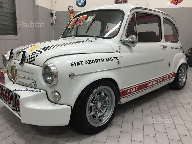 sold fiat 600 abarth 850 tc anni used cars for sale autouncle. Black Bedroom Furniture Sets. Home Design Ideas