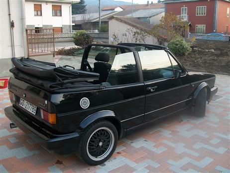 usato sportline vw golf cabriolet 1992 km in. Black Bedroom Furniture Sets. Home Design Ideas