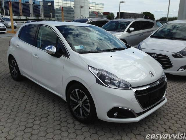 sold peugeot 208 allure 5p blue hd used cars for sale autouncle. Black Bedroom Furniture Sets. Home Design Ideas