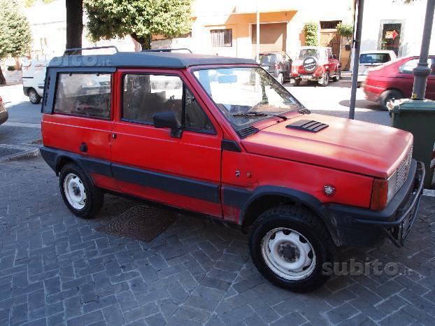 sold fiat panda 4x4 4x4 rock moret used cars for sale. Black Bedroom Furniture Sets. Home Design Ideas