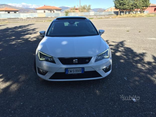sold seat leon fr 184 cv dsg 2015 used cars for sale autouncle. Black Bedroom Furniture Sets. Home Design Ideas