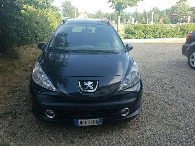usato 1 6 hdi 90cv fap sw x line peugeot 207 2007 km in cuneo cn. Black Bedroom Furniture Sets. Home Design Ideas