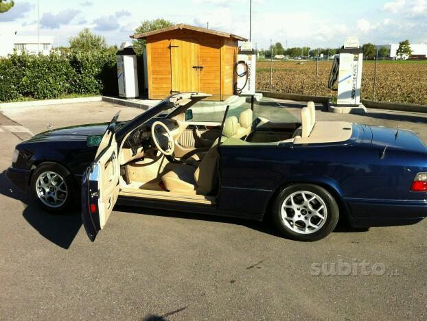 sold mercedes e200 cabrio w124 used cars for sale autouncle. Black Bedroom Furniture Sets. Home Design Ideas