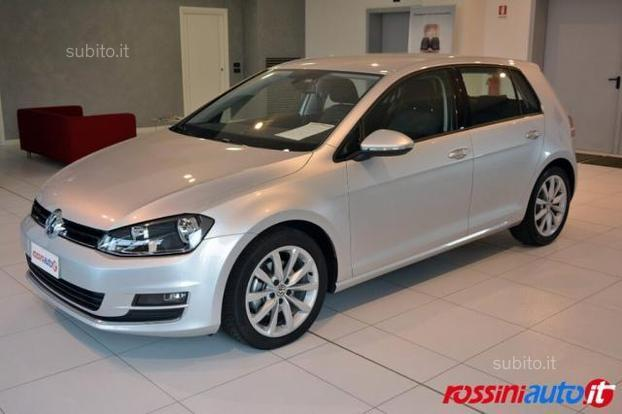 sold vw golf vii 2 0 tdi 150 cv ds used cars for sale. Black Bedroom Furniture Sets. Home Design Ideas