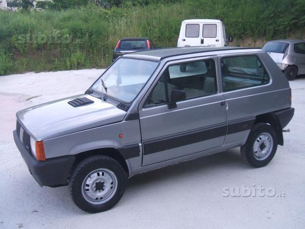Fiat panda 4x4 usate sold fiat panda 4x4 4x4 prima serie for Panda sisley wikipedia