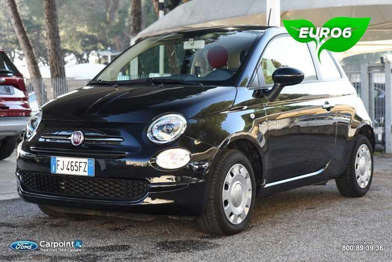 usato 1 2 pop 69cv fiat 500 2017 km in roma autouncle. Black Bedroom Furniture Sets. Home Design Ideas