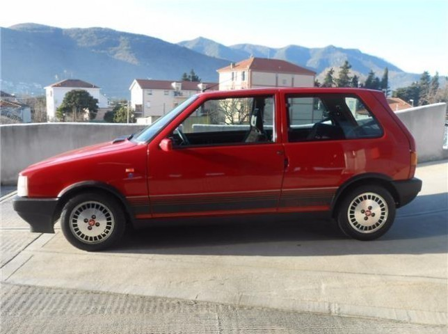 sold fiat uno turbo ie asi targa o used cars for sale. Black Bedroom Furniture Sets. Home Design Ideas