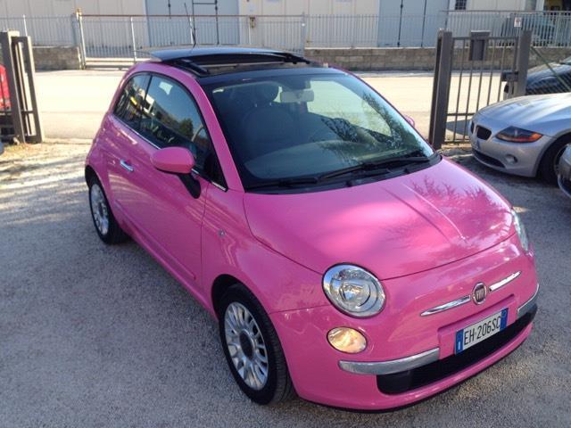 Venduto Fiat 500 1 2 Rosa Barbie Auto Usate In Vendita