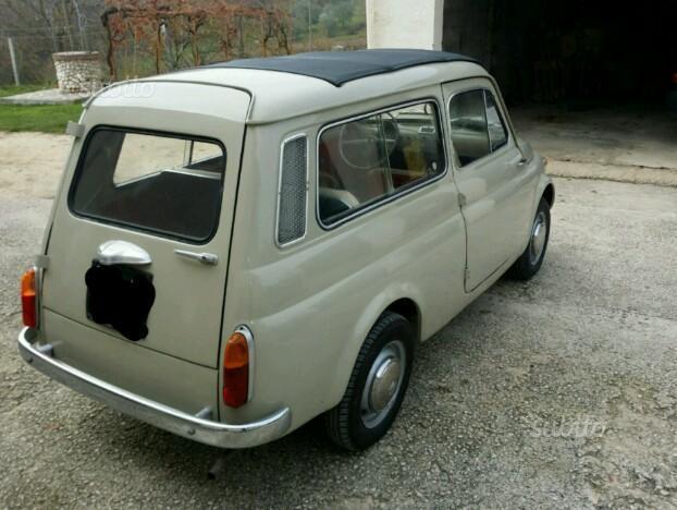 Venduto Fiat 500 Giardiniera D Epoca Auto Usate In Vendita