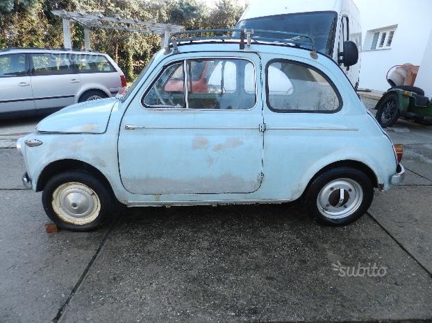 Venduto Fiat 500 N Trasformabile Auto Usate In Vendita