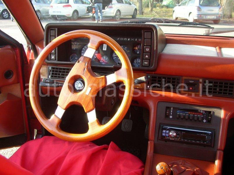 Sold Maserati Biturbo S Interno Mi Used Cars For Sale