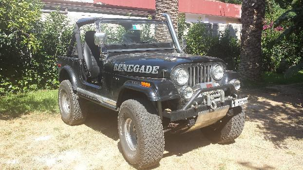 sold jeep renegade cj7 v8 5000 a used cars for sale autouncle. Black Bedroom Furniture Sets. Home Design Ideas