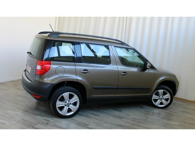 sold skoda yeti 2 0 tdi 110 hp 4wd used cars for sale autouncle. Black Bedroom Furniture Sets. Home Design Ideas