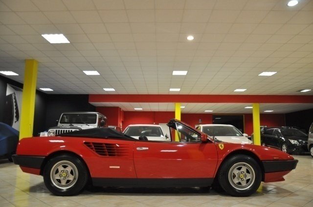 usato 3 0 quattrovalvole ferrari mondial 1985 km in capannori lu. Black Bedroom Furniture Sets. Home Design Ideas