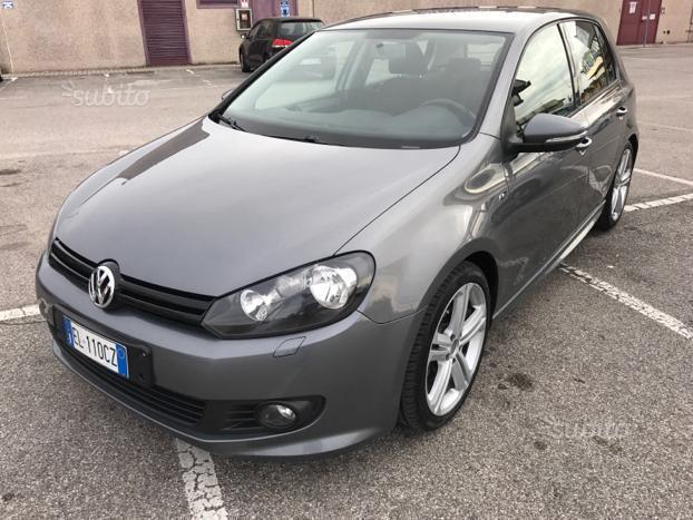sold vw golf vi 6 2 0 tdi r line used cars for sale. Black Bedroom Furniture Sets. Home Design Ideas