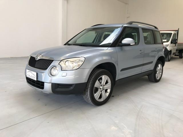 usato 2 0 tdi cr 110cv adventure skoda yeti 2010 km in san secondo parm. Black Bedroom Furniture Sets. Home Design Ideas