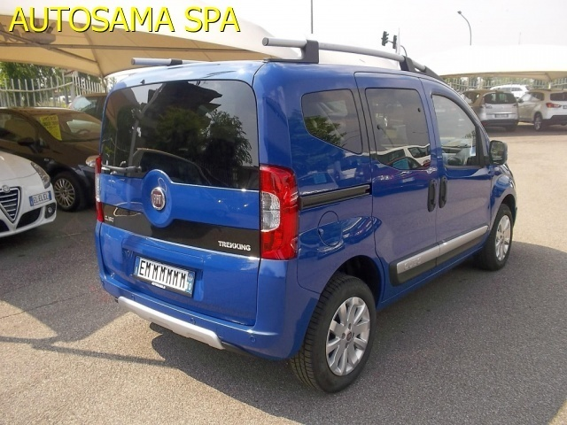 Prova Fiat Qubo 1.3 16V Multijet 95 CV Trekking - argon