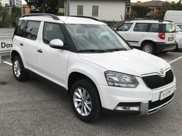 sold skoda yeti 2 0 tdi scr 110 cv used cars for sale. Black Bedroom Furniture Sets. Home Design Ideas