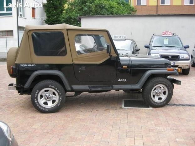 usato 2 5 cabrio gpl jeep wrangler 1996 km in lavis tn. Black Bedroom Furniture Sets. Home Design Ideas