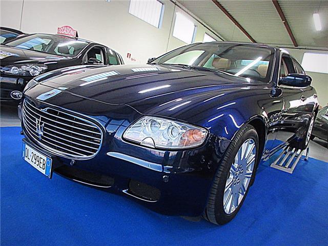 Sold Maserati Quattroporte 4 2 Nav Used Cars For Sale