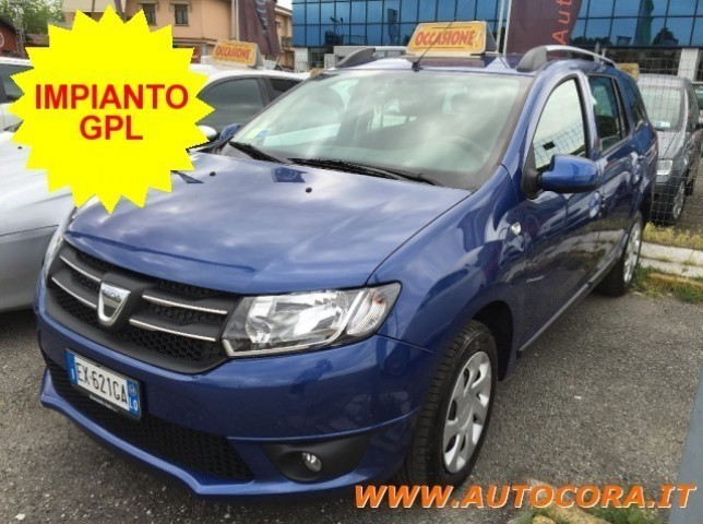 sold dacia logan mcv 1 2 75 cv gpl used cars for sale autouncle. Black Bedroom Furniture Sets. Home Design Ideas