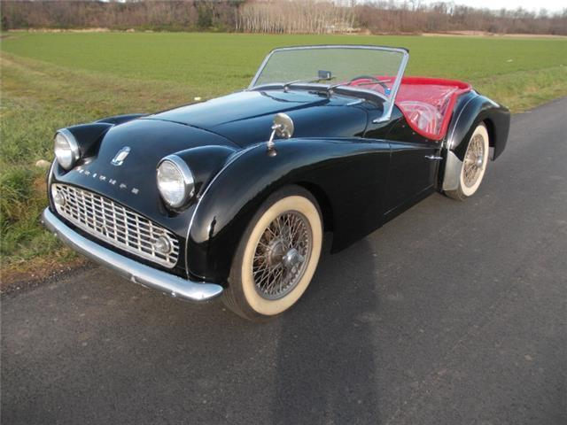 sold triumph tr3 a roadster used cars for sale autouncle. Black Bedroom Furniture Sets. Home Design Ideas