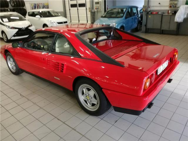 usato 3 4 t cat ferrari mondial 1990 km in gianico brescia. Black Bedroom Furniture Sets. Home Design Ideas