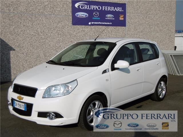 Sold Chevrolet Aveo 12 Gpl Ecolog Used Cars For Sale