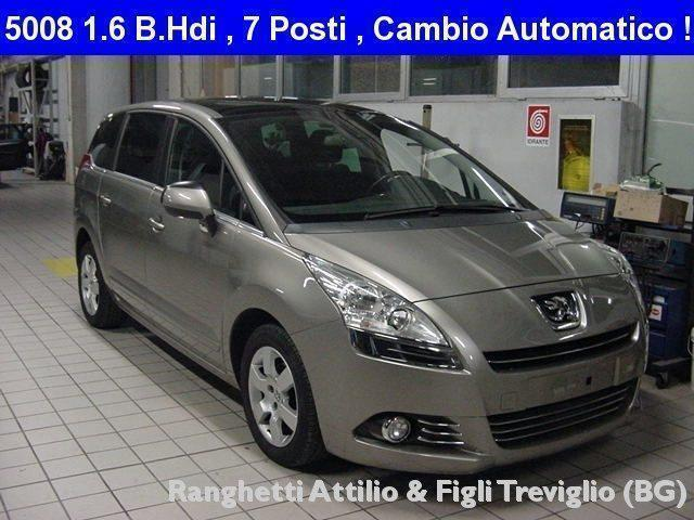 sold peugeot 5008 5008 1 6 hdi 112 used cars for sale autouncle. Black Bedroom Furniture Sets. Home Design Ideas