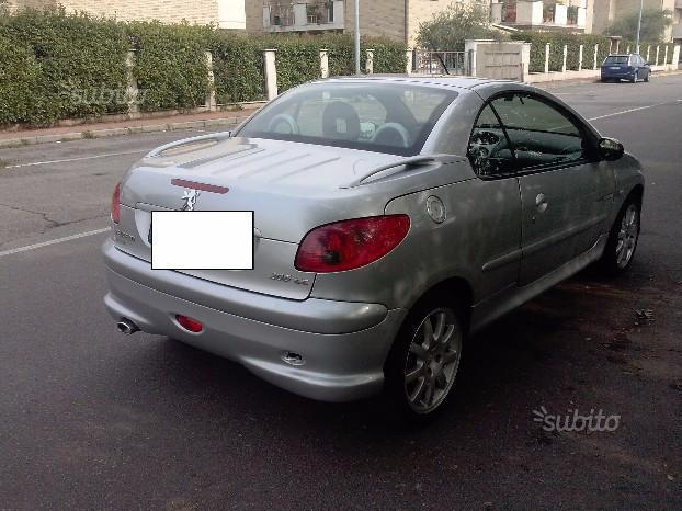 sold peugeot 206 cc quiksilver 1 6 used cars for sale autouncle. Black Bedroom Furniture Sets. Home Design Ideas