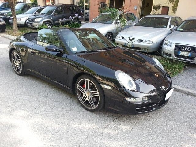 usato carrera 4s cabrio porsche 997 2007 km in pesaro. Black Bedroom Furniture Sets. Home Design Ideas