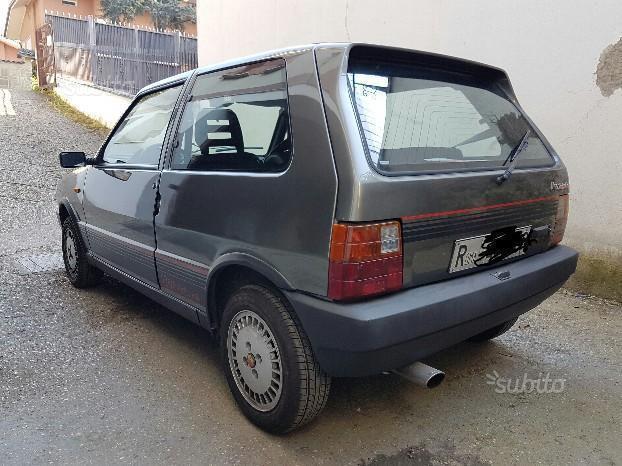 fiat uno turbo vendita with 25845010 Fiat Uno Turbo I E 3 Porte on Uno also Fiat Ritmo as well 19556 Alfa Romeo 75 Turbo Evoluzione Allasta Cifra 100 120 Mila Euro further Uno moreover Fiat 500l Usa.