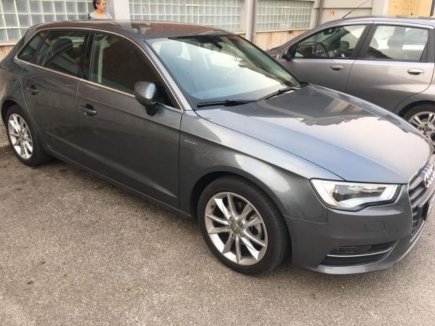 Audi a3 sportback usata 2015 16