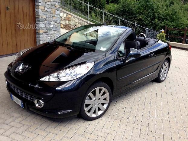 sold peugeot 207 cc 1 6 vti 120cv used cars for sale autouncle. Black Bedroom Furniture Sets. Home Design Ideas