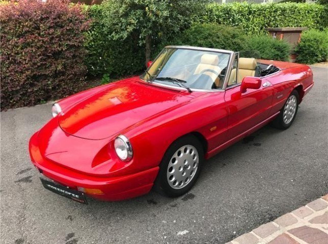 sold alfa romeo spider duetto 1600 used cars for sale autouncle. Black Bedroom Furniture Sets. Home Design Ideas