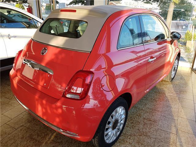 Venduto Fiat 500c 500c1 2 Lounge Ross Auto Usate In Vendita
