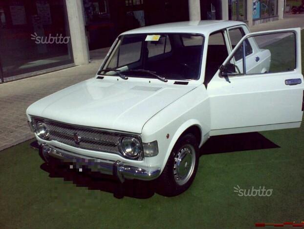 fiat 128 berlina prima serie anno 1972 motore orriginale ...