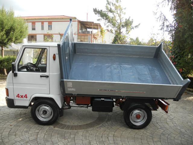 sold piaggio porter gasolone 4x4 1 used cars for sale. Black Bedroom Furniture Sets. Home Design Ideas