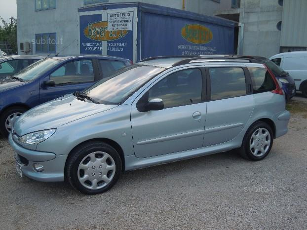 sold peugeot 206 2 0 hdi sw xs used cars for sale. Black Bedroom Furniture Sets. Home Design Ideas
