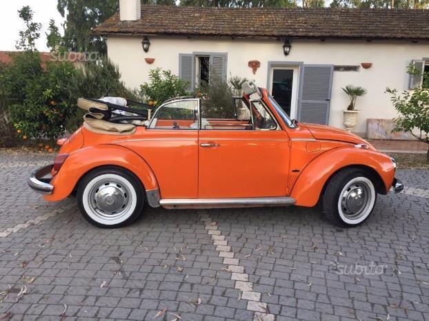 Sold vw maggiolino cabrio anni 70 used cars for sale for Furgone anni 70 volkswagen