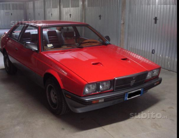 sold maserati biturbo si iniezione - used cars for sale - autouncle