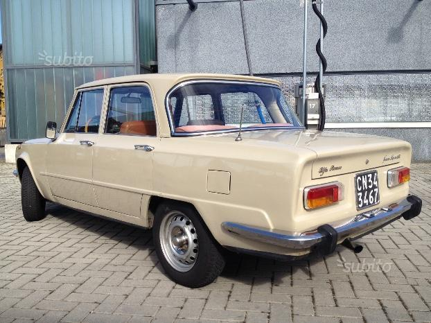 Sold Alfa Romeo Giulia Anni 70 Used Cars For Sale