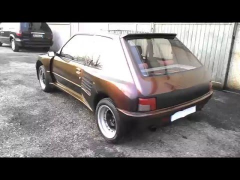 sold peugeot 205 gti pts dimma max used cars for sale. Black Bedroom Furniture Sets. Home Design Ideas